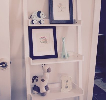 Baby Room Angle Shelf